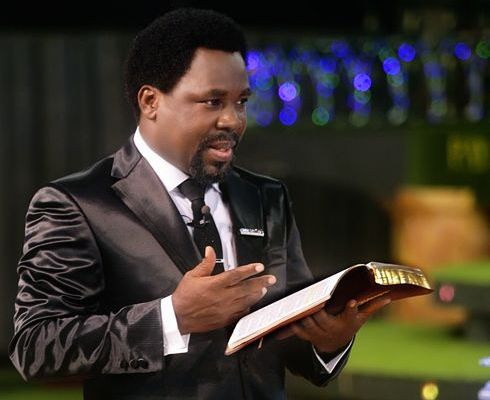 Pastor Tb Joshua replies critics concerning trump's win