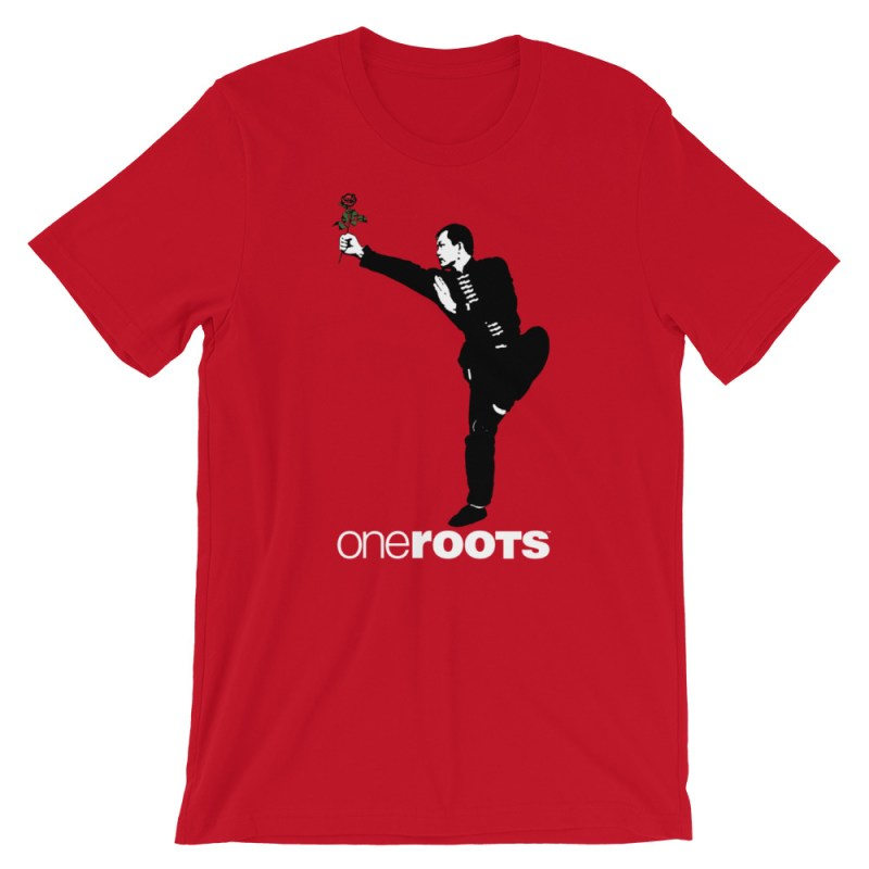 oneROOTS™ - Shaolin Rose - T-Shirt - Red