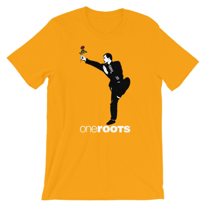 oneROOTS™ - Shaolin Rose - T-Shirt - Gold