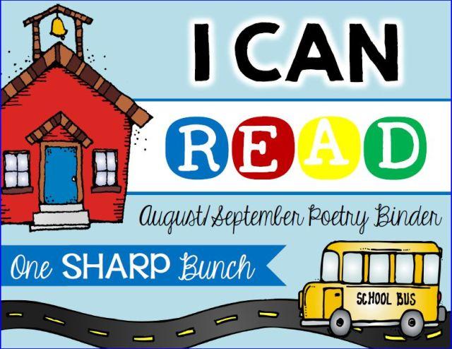 http://www.teacherspayteachers.com/Product/I-Can-Read-Poetry-Binder-August-September-1371747