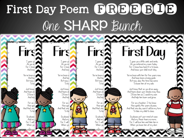 http://www.teacherspayteachers.com/Product/First-Day-of-School-Parent-Poem-1420039