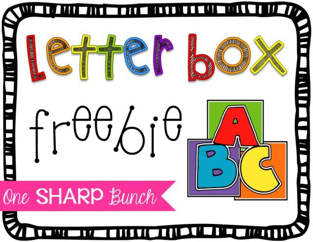 """Encourage letter identification and sound recognition with this engaging at-home connection! Use the """"Letter Box"""" to practice beginning sounds, digraphs or blends. This is one of our Kindergarten students' favorite alphabet activities, but it could also be used with preschool students! Grab the """"Letter Box"""" FREEBIES to help foster phonemic awareness!"""