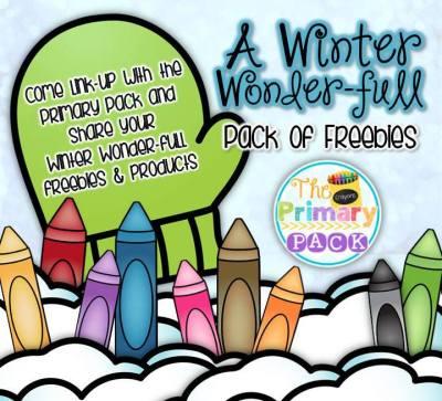 http://theprimarypack.blogspot.com/2014/12/winter-wonder-full-freebie-winter.html