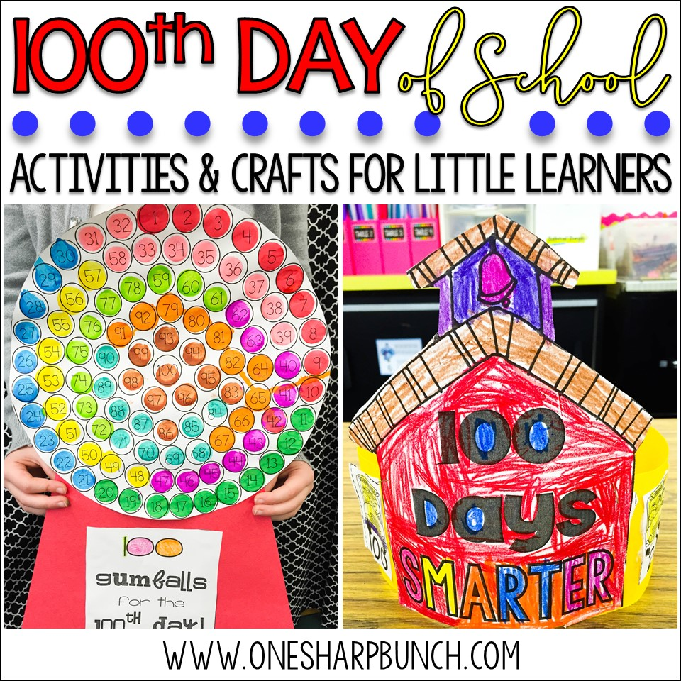 20th Day of School Activities, Crafts & FREEBIES