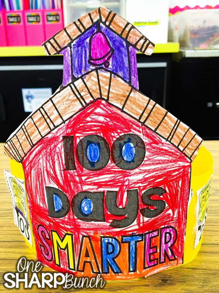 Celebrate the 100th Day of school with these engaging 100th Day of School ideas... sure to have your kiddos begging for more 100th Day of Kindergarten fun! Check out how this teacher adapted the 100th Day of school gumball machine to support her kindergarten students!