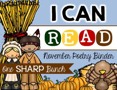 http://www.teacherspayteachers.com/Product/I-Can-Read-Poetry-Binder-November-1533033