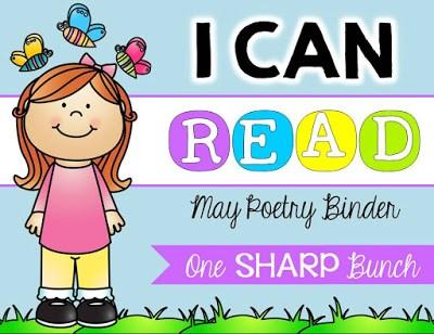 https://www.teacherspayteachers.com/Product/I-Can-Read-Poetry-Binder-May-1850626