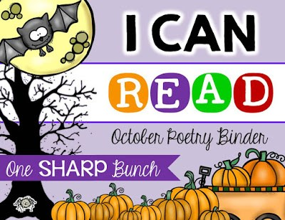 Help build fluency, concepts of print, phonemic awareness, and more with poetry! Your kiddos will love these fall poems, including a bat poem, monster poem, spider poem, pumpkin poem, and ghost poem!