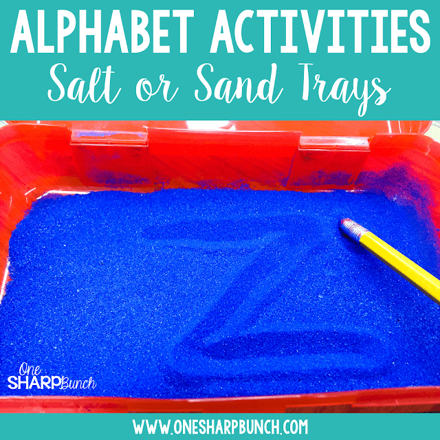 Encourage letter identification, sound recognition and letter fluency with these differentiated alphabet activities, perfect for small group instruction, guided reading groups or literacy centers! Foster early phonics and phonemic awareness skills with the FREE printable resource!