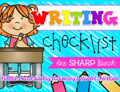 "Writing Workshop can be one of the most challenging times during the day for our Kindergarten students, but not with these great writing tips, writing activities, and writing FREEBIES! This ""growing"" writing checklist is one of our favorite Kindergarten activities for improving our Kindergarten writing block and creating independent writers... one check at a time!"