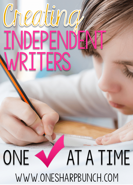 http://www.onesharpbunch.com/2016/02/creating-independent-writers.html