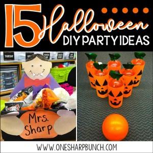 15 DIY Halloween Party Ideas for the Classroom