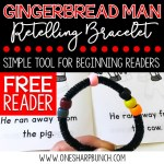 The Gingerbread Man Retelling Bracelet