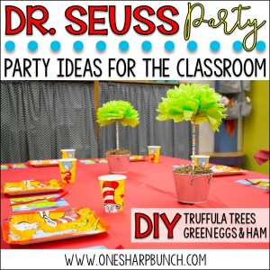 Dr. Seuss Birthday Party Ideas for the Classroom