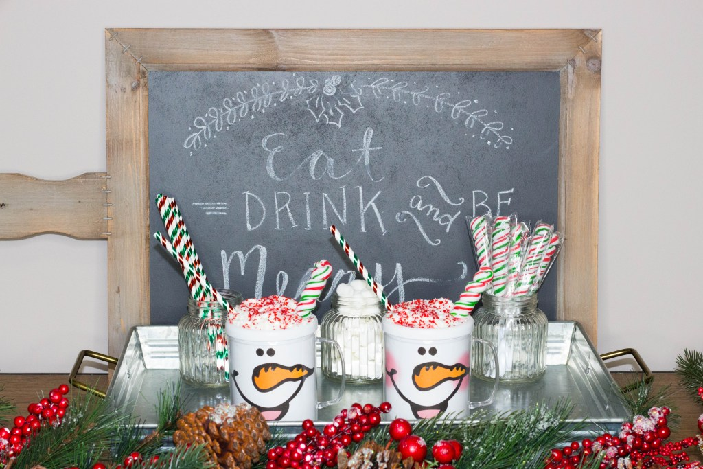 This Snowman Soup recipe makes the perfect student Christmas gifts! Pack the kits inside this DIY snowman face mug and attach the FREE Snowman Soup printables, and you'll have adorable Christmas gifts for your students!