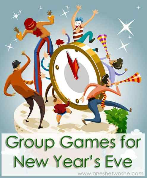 New Years Eve Group Games www.oneshetwoshe.com