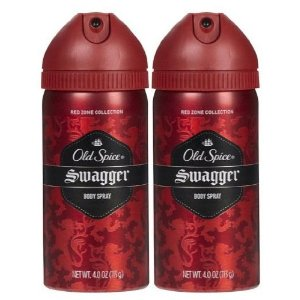 Old Spice Red Zone Body Spray, Swagger, 4 oz