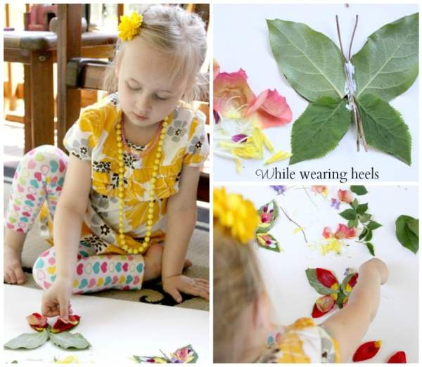 butterfly decorating