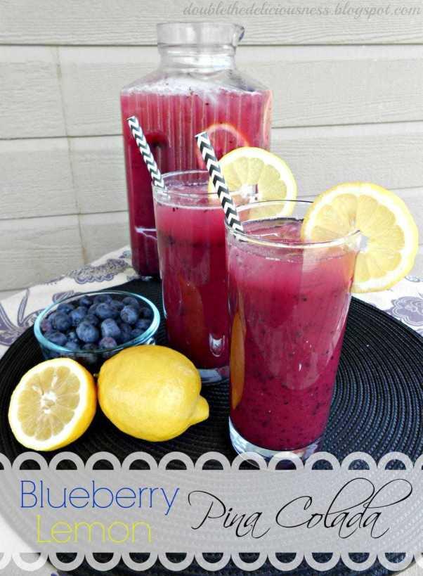 blueberry lemon pina colada