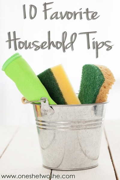 household tips