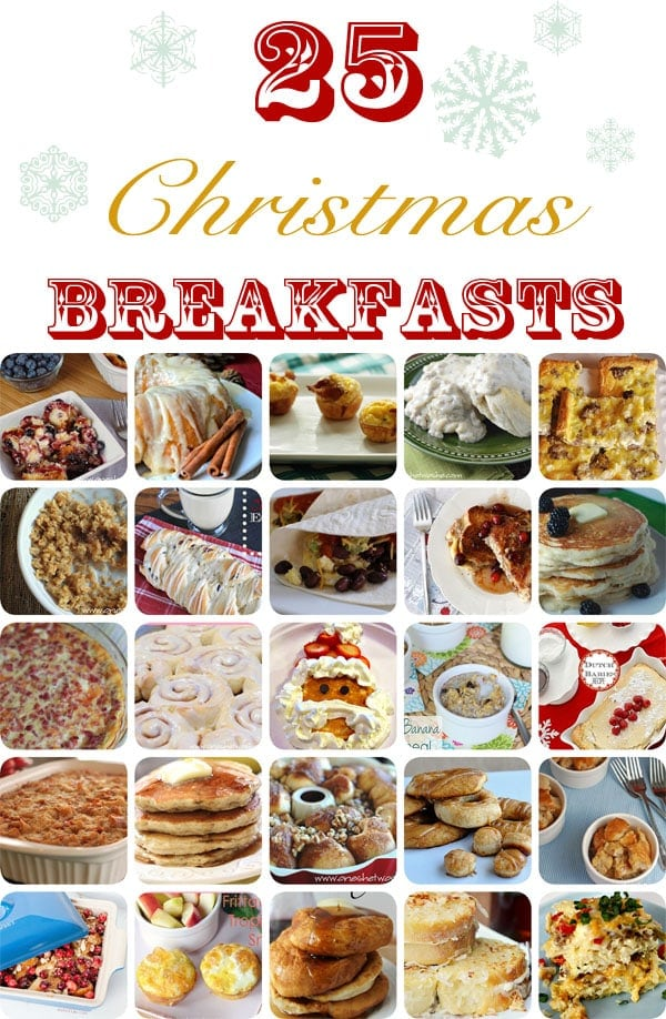25 Christmas Breakfast Ideas 2