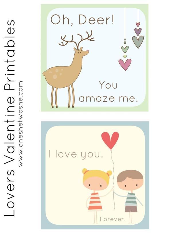 Lovers Valentines