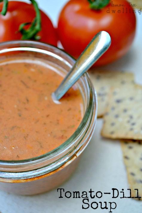 Tomato-Dill Soup 1 - Copy