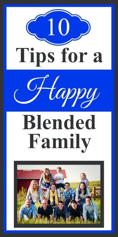 blended families tips