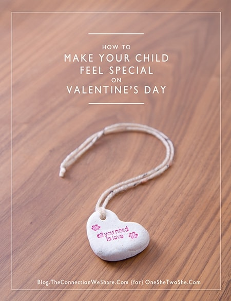 make your child feel special
