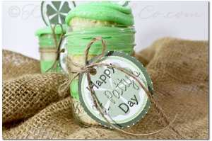St. Patricks Day Printable Cupcake Toppers from Gina @ Kleinworth & Co.