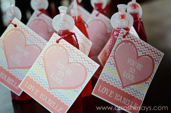 'Your'e So Kool' Valentine ~ Free Printable www.orsoshesays.com
