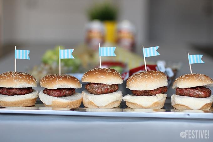 hamburger toppers