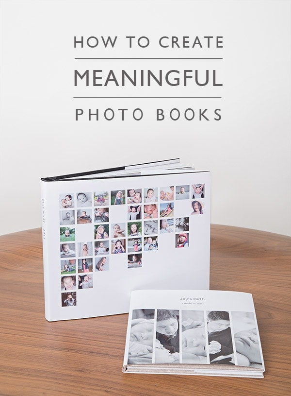 create meaningful photo books