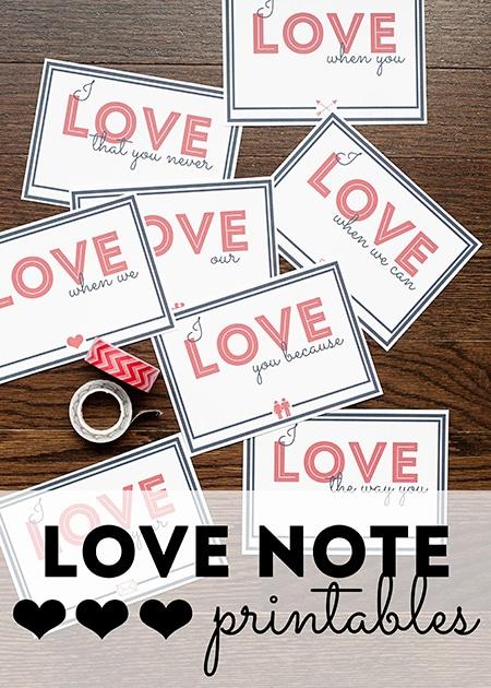 Love-Note-Printables