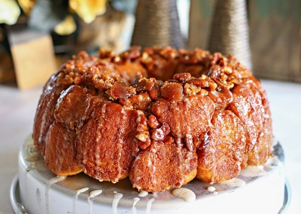 Holiday Spice Monkey Bread from Gina @ Kleinworth & Co.