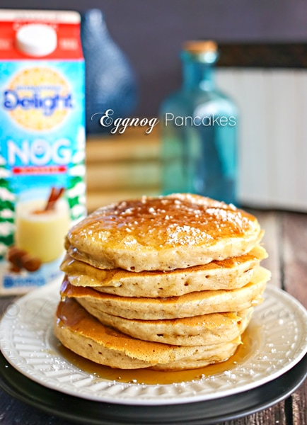Eggnog Pancakes from Gina @ Kleinworth & Co.