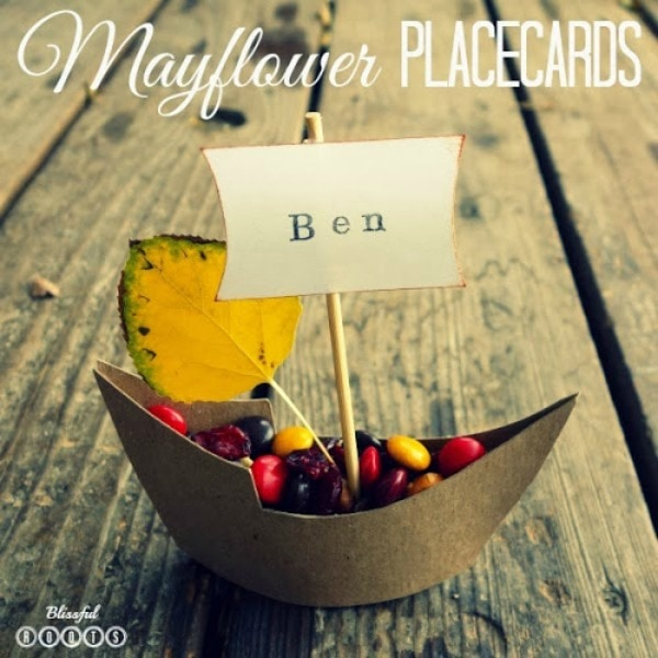 Mayflower Placecards