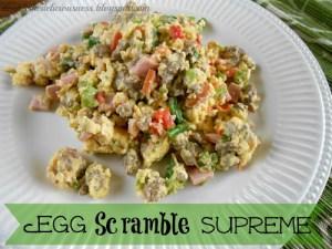 Egg scramble supreme
