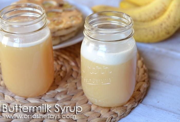 Buttermilk Syrup 2