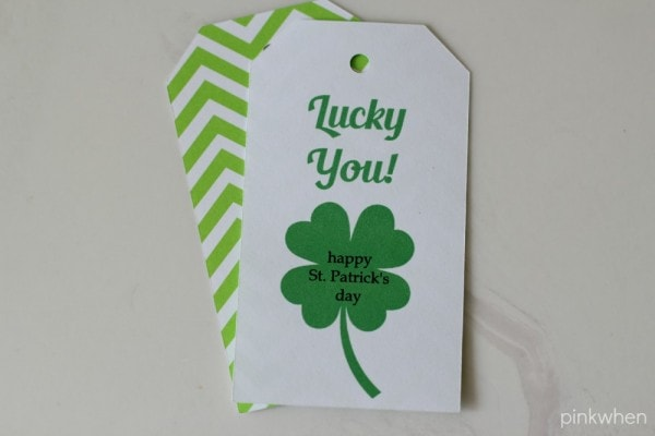 St. Patrick's Day Printable and Gift Idea