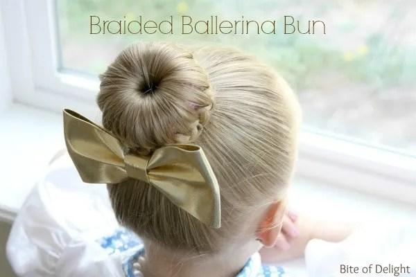 Braided Ballerina Bun