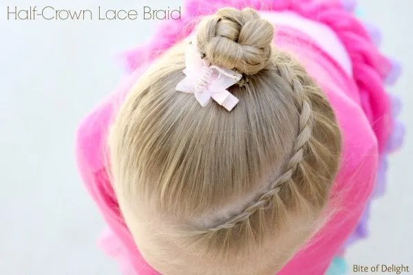 Half Crown Lace Braid