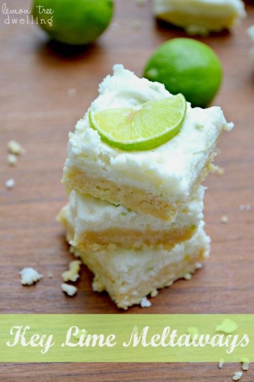 No-Bake Key Lime Meltaways  & 24  Fun Summer Desserts!
