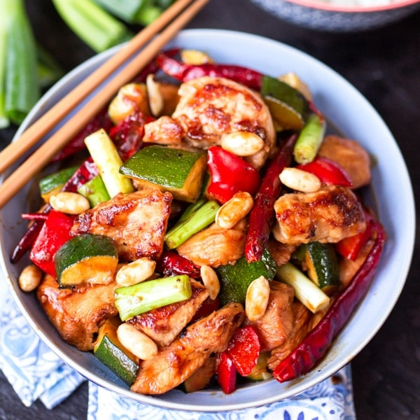 Kung Pao Chicken - Copycat Panda Express Recipe
