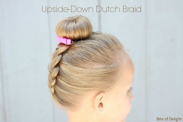 Upside Down Dutch Braid | Hair Tutorial