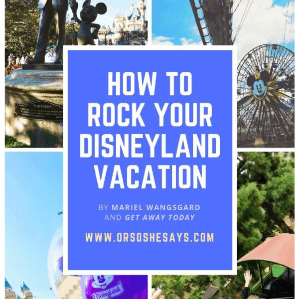 Disneyland tips and tricks