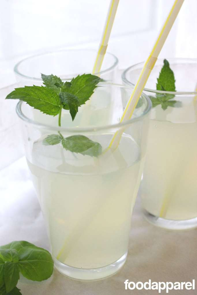Herbed Lemonade - so refreshing!