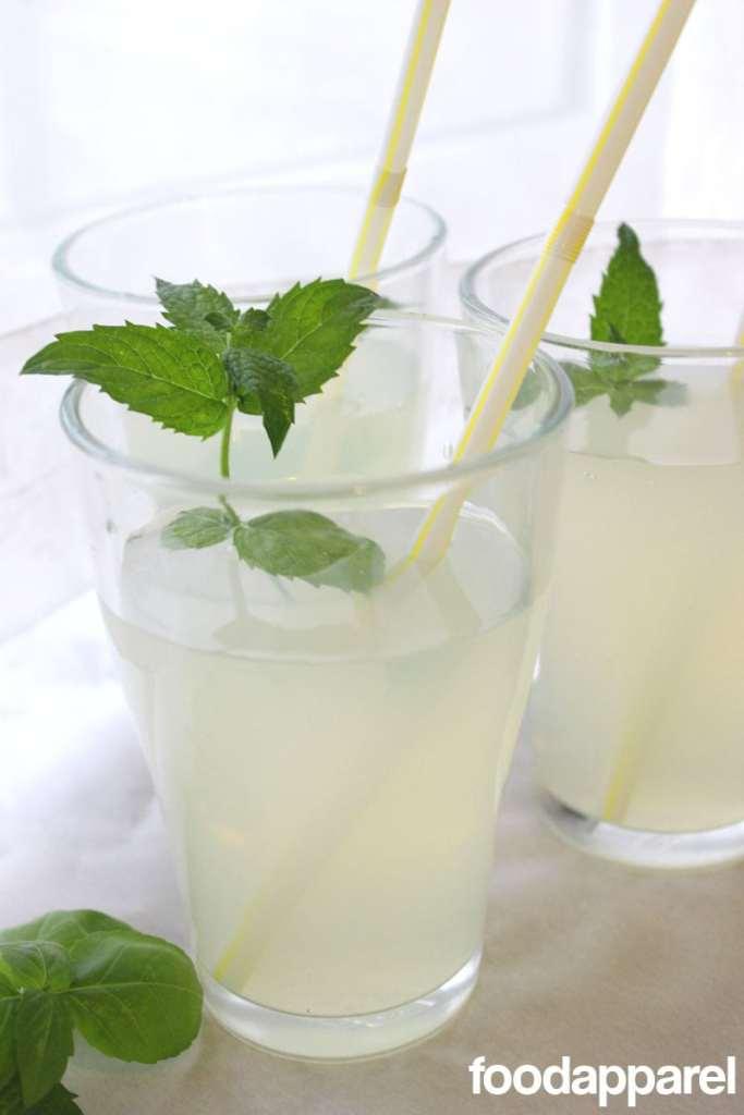 Herbed Lemonade - so refreshing!