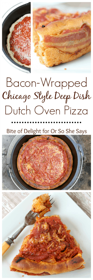 chicago style deep dish dutch oven pizza