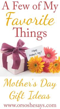 Mother's Day Gift Ideas 2015